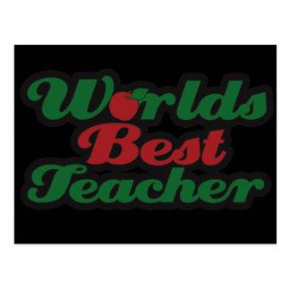 El mejor profesor de los mundos postales