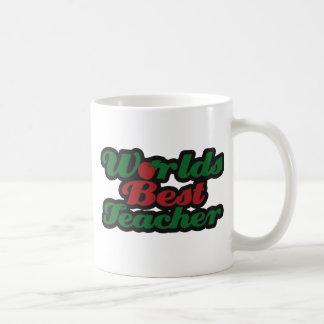 El mejor profesor de los mundos taza de café