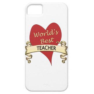 El mejor profesor del mundo iPhone 5 carcasas