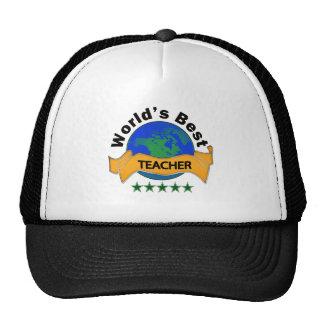 El mejor profesor del mundo gorras