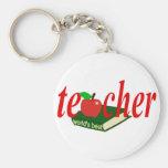 El mejor profesor del mundo llaveros personalizados