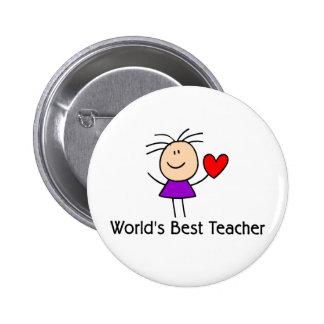 El mejor profesor del mundo pin
