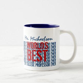 El mejor profesor Ever Gift de la universidad del Tazas De Café
