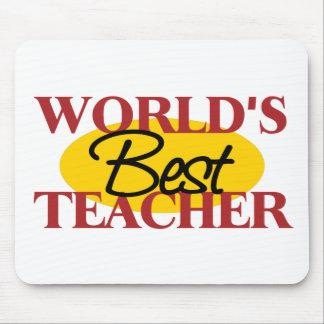 El mejor profesor Mousepad del mundo