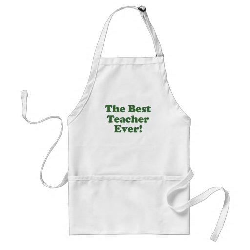 El mejor profesor nunca delantal