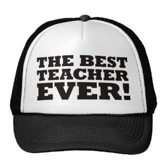 El mejor profesor nunca gorra