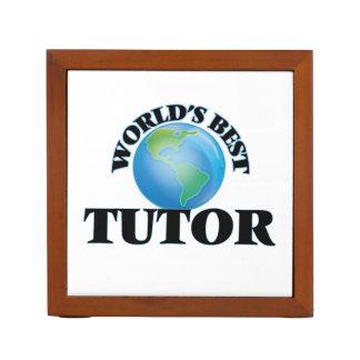 El mejor profesor particular del mundo organizador de escritorio