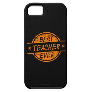 El mejor profesor siempre anaranjado iPhone 5 fundas