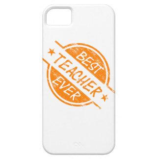 El mejor profesor siempre anaranjado iPhone 5 coberturas