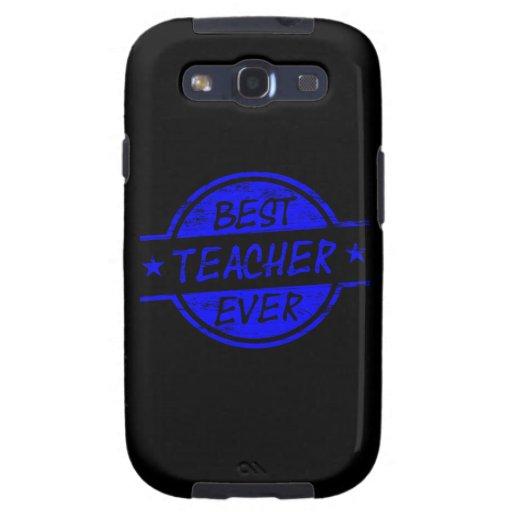 El mejor profesor siempre azul galaxy s3 cárcasas