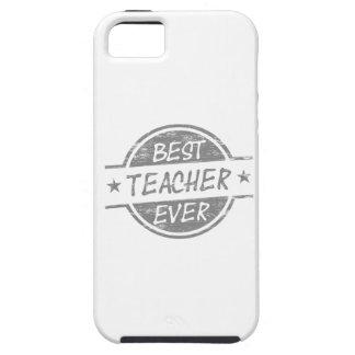 El mejor profesor siempre gris iPhone 5 carcasas