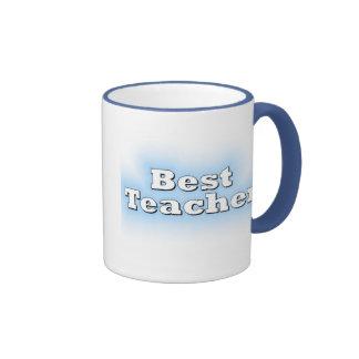 El mejor profesor taza a dos colores