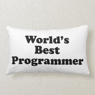 El mejor programador del mundo cojin