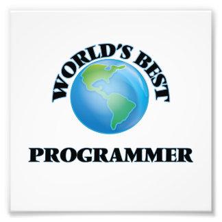 El mejor programador del mundo impresion fotografica