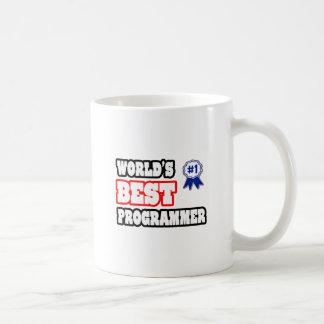 El mejor programador del mundo tazas