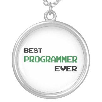 El mejor programador nunca colgante redondo