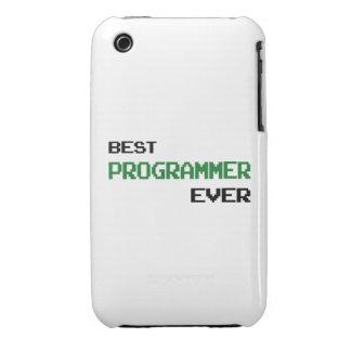 El mejor programador nunca iPhone 3 Case-Mate protectores