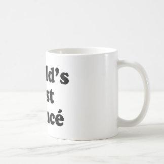 El mejor prometido del mundo taza básica blanca