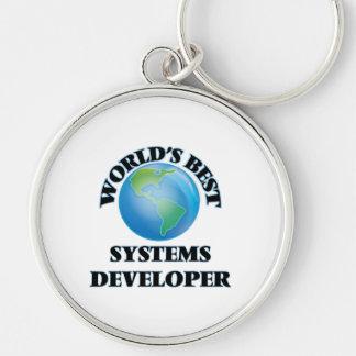 El mejor promotor de los sistemas del mundo llavero personalizado