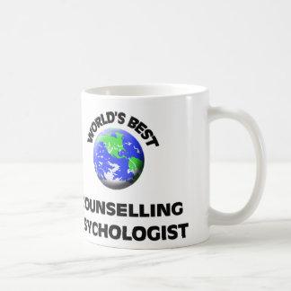 El mejor psicólogo de asesoramiento del mundo tazas de café