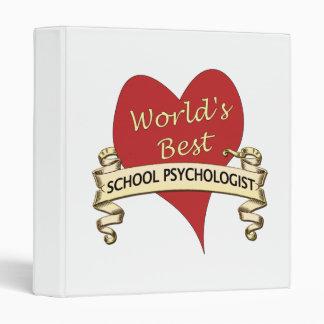 """El mejor psicólogo de la escuela del mundo carpeta 1"""""""