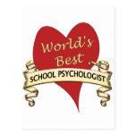 El mejor psicólogo de la escuela del mundo postal