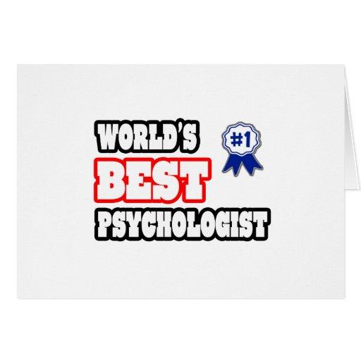 El mejor psicólogo del mundo tarjetón