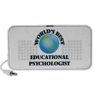 El mejor psicólogo educativo del mundo laptop altavoces