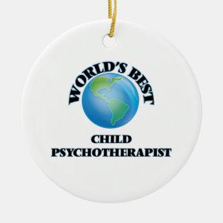 El mejor psicoterapeuta del niño del mundo ornamentos de reyes