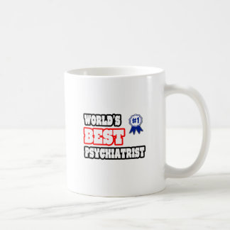 El mejor psiquiatra del mundo taza básica blanca