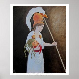 El mejor querido: Athena y medusa, 2da versión Póster