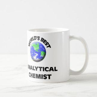 El mejor químico analítico del mundo taza de café