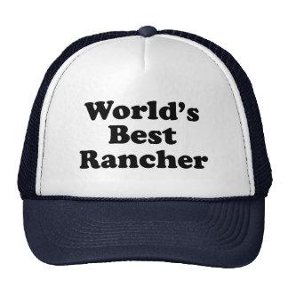 El mejor ranchero del mundo gorro de camionero