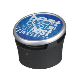 El mejor; Rayas azules reales Altavoz Bluetooth