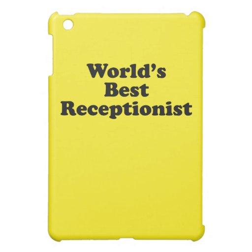 El mejor recepcionista del mundo iPad mini protector