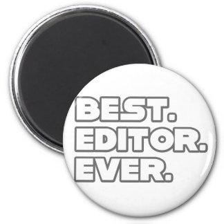 El mejor redactor nunca iman de nevera