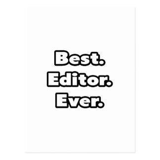 El mejor. Redactor. Nunca Tarjetas Postales