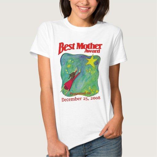 El mejor regalo de Navidad del premio de la madre Playera