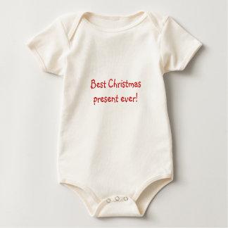 ¡El mejor regalo de Navidad nunca!  Onsie del bebé Mameluco De Bebé