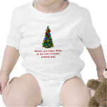 El mejor regalo de Navidad nunca Trajes De Bebé