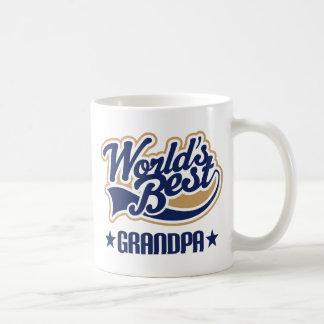 El mejor regalo del abuelo de los mundos taza