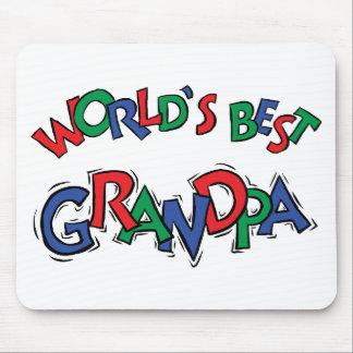 El mejor regalo del abuelo del mundo tapete de ratón
