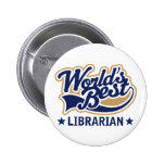 El mejor regalo del bibliotecario de los mundos pin