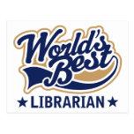 El mejor regalo del bibliotecario de los mundos postal