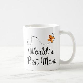 El mejor regalo del día de madre de la mamá del taza básica blanca