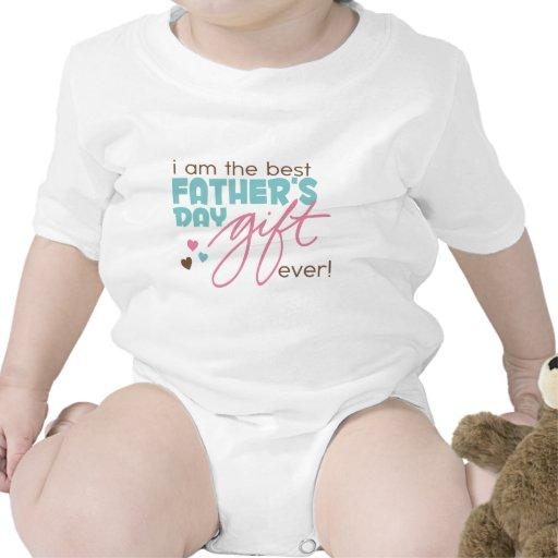 El mejor regalo del día de padres camisetas