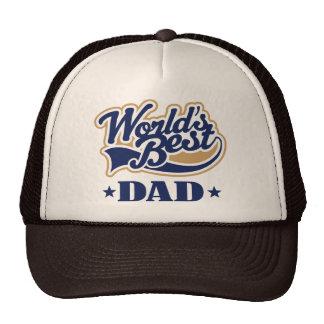 El mejor regalo del papá del mundo fresco gorras de camionero