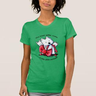 El mejor regalo Westies Camisetas