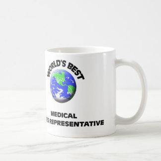 El mejor representante de las ventas médico del taza clásica