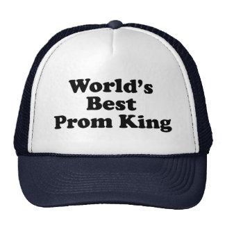 El mejor rey del baile de fin de curso del mundo gorra